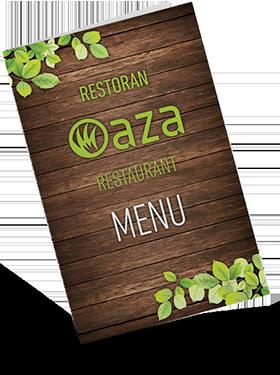 Oaza menu